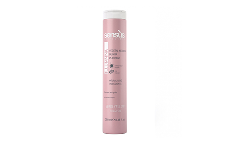 Sensus Sampon pentru par blond  Zero Yellow Shampoo 250 ml