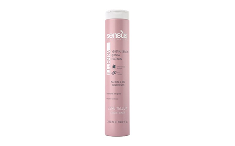 Balsam pentru par blond - Sens US Zero Yellow 250 ml