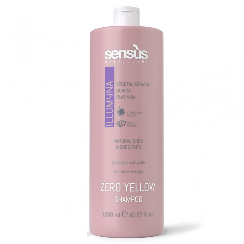 Sensus Sampon pentru par blond Zero Yellow 1200 ml